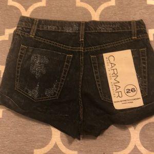 Carmar Shorts - Carmar High Rise black shorts 26 $158